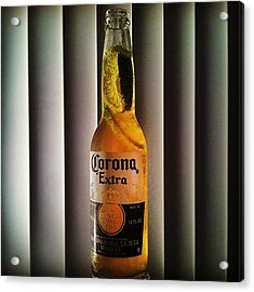 Photoshoot With A Corona? Why Not. #art Acrylic Print