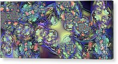 Phytoplankton Acrylic Print by Ron Bissett