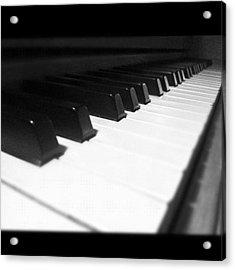 #piano #love #passion #ivory Acrylic Print