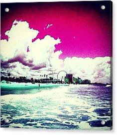 Pic Redo #beach #summer #prettycolors Acrylic Print