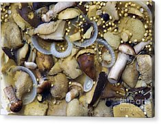 Pickled Mushrooms Acrylic Print by Michal Boubin