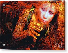 Acrylic Print featuring the photograph Picnic In The Forest by Clayton Bruster