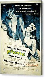 Picnic, William Holden, Kim Novak Acrylic Print by Everett