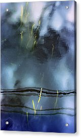 Picture Of Water Acrylic Print by Marisa Matis