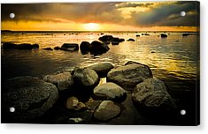 Piedras Acrylic Print by Jason Naudi Photography