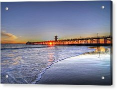 Pier Vista Acrylic Print