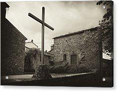 Acrylic Print featuring the photograph Pieve Di Santa Maria Alla Sovarra by Hugh Smith