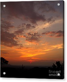 Pigeon Forge Sunset Acrylic Print