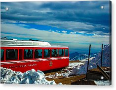Acrylic Print featuring the photograph Pikes Peak Railway by Shannon Harrington
