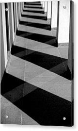 Pilars  Acrylic Print by Frank DiGiovanni