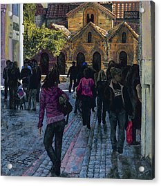 Pilgrims Progress Acrylic Print by Mike Burns