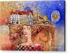 Pilgrims Acrylic Print by Svetlana and Sabir Gadghievs
