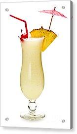 Pina Colada Cocktail Acrylic Print