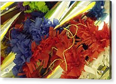 Pinata Pile Acrylic Print by Anna Villarreal Garbis