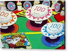 Pinball Wizard Acrylic Print