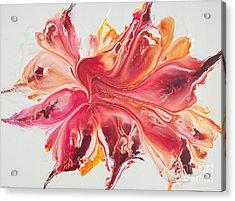 Pink Ardor Acrylic Print