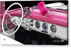 Pink Classic Acrylic Print