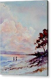 Pink Dawn Acrylic Print by Bobbi Price
