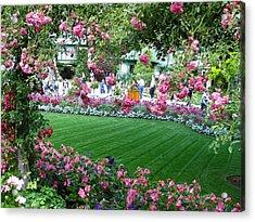 Pink Garden Acrylic Print