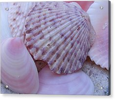 Pink Imperfection Acrylic Print