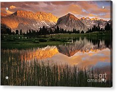 Pioneer Basin Acrylic Print by Buck Forester