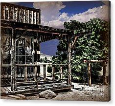 Pioneer House Acrylic Print