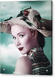 Piper Laurie, Ca. Early 1950s Acrylic Print by Everett