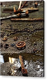 Pipes Acrylic Print by HD Connelly
