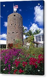 Pirate Castle Tower Acrylic Print by George Oze