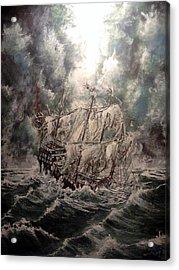 Pirate Islands 2 Acrylic Print by Robert Tarrant