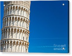 Acrylic Print featuring the photograph Pisa Leaning Tower by Luciano Mortula