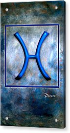 Pisces  Acrylic Print by Mauro Celotti