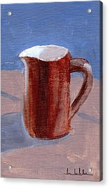 Acrylic Print featuring the painting Pitcher by Lou Belcher