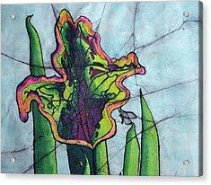 Pitcher Plant Acrylic Print by Shari Carlson