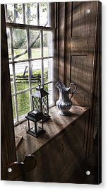 Pitcher Window Acrylic Print by Peter Chilelli