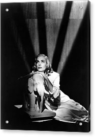 Pitfall, Lizabeth Scott, 1948 Acrylic Print by Everett