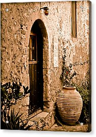 Monemvasia, Greece - Pithos Acrylic Print
