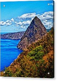 Pitit Piton St. Lucia Acrylic Print