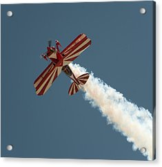 Acrylic Print featuring the photograph Pitts Special by Gary Rose