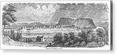 Pittsburgh, 1790 Acrylic Print by Granger