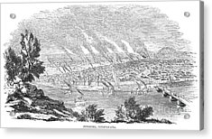 Pittsburgh, 1855 Acrylic Print by Granger