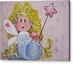 Pixie Dust Acrylic Print by Leslie Manley