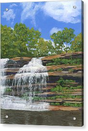 Pixley Falls Acrylic Print by Lynne Reichhart