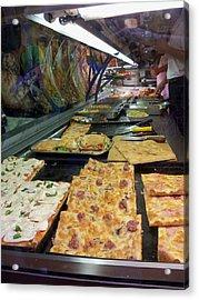 Pizza Pizza Acrylic Print