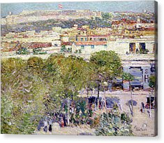 Place Centrale And Fort Cabanas - Havana Acrylic Print