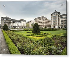 Place Des Martyrs, Luxembourg City, Luxembourg, Europe Acrylic Print by Jon Boyes
