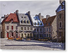 Acrylic Print featuring the photograph Place Royale by Eunice Gibb