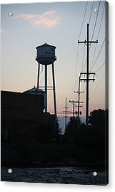 Acrylic Print featuring the photograph Plainwell Paper Mill II by Penny Hunt