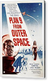 Plan 9 From Outer Space, 1959 Acrylic Print by Everett