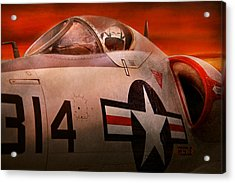 Plane - Pilot - Airforce - Go Get Em Tiger  Acrylic Print by Mike Savad